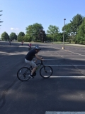 DeCicco, Gabe riding bike